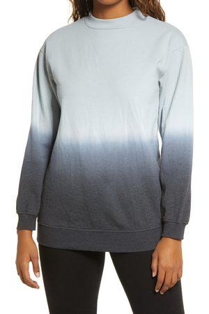 BP. Women's Dip Dye Crewneck Cotton Blend Sweatshirt