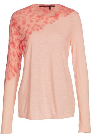 Proenza Schouler Women's Tie-Dye Tissue Jersey T-Shirt - - Size Medium