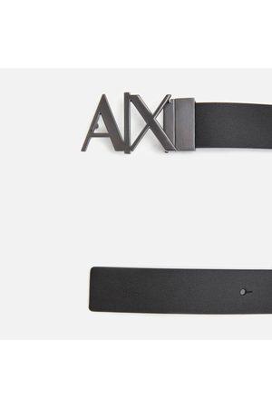 Armani Men's Ax Buckle Belt