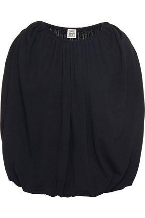 TOTÊME Totême Woman Maida Gathered Stretch-knit Top Size M