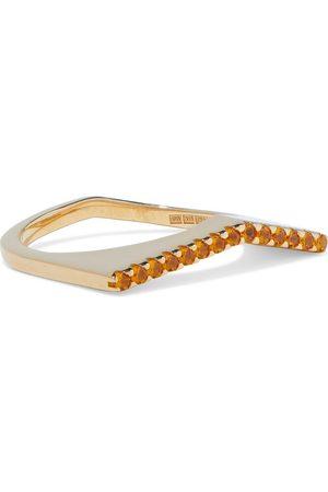 CORNELIA WEBB Women Rings - Woman 24-karat -plated Siamite Ring Size 16