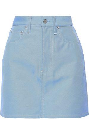 Helmut Lang Woman Denim Mini Skirt Light Size 25