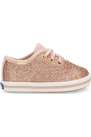 Keds X kate spade new york Champion Glitter Crib Sneaker Rose , Size 2m Shoes