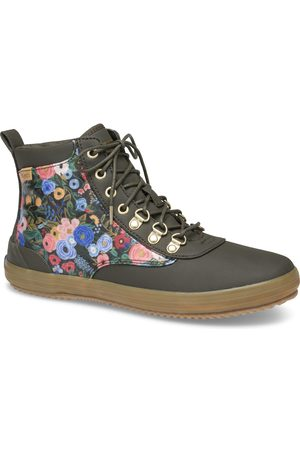 Keds X Rifle Paper Co. Scout Water-resistant Boot Garden Party Forest , Size 5m Women's Shoes