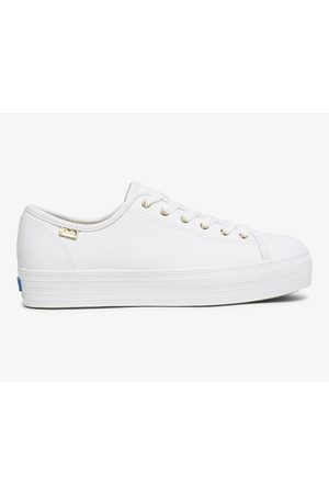 Keds Triple Kick Luxe Leather , Size 5m Women's Shoes