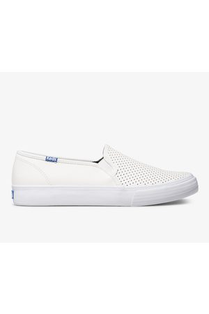 Keds Double Decker Perf Leather , Size 5.5m Women's Shoes