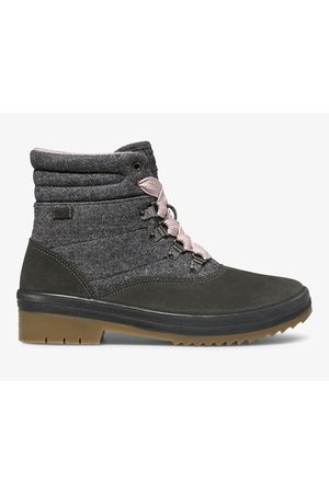 Keds Camp Water-resistant Boot W/ Thinsulate™ Charcoal, Size 5m Women's Shoes