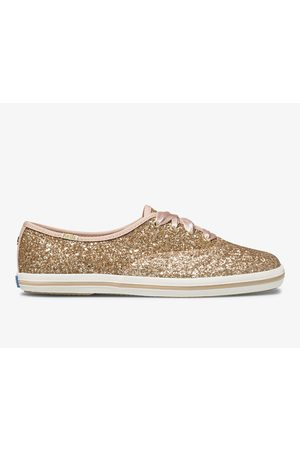 Keds Women Sneakers - X kate spade new york Champion Glitter Rose Glitter, Size 5m Women's Shoes