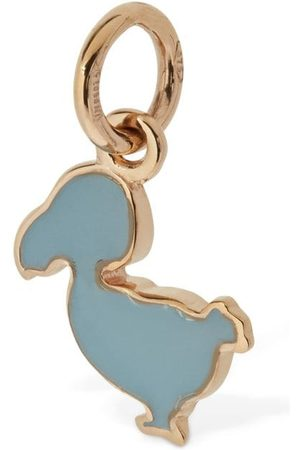 Dodo Girls Jewelry - 9kt Rose Gold Enameled Junior Charm