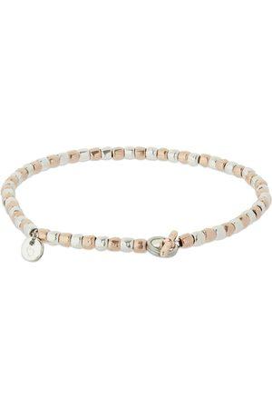 Dodo Women Bracelets - Mini Granelli Two Tone Chain Bracelet