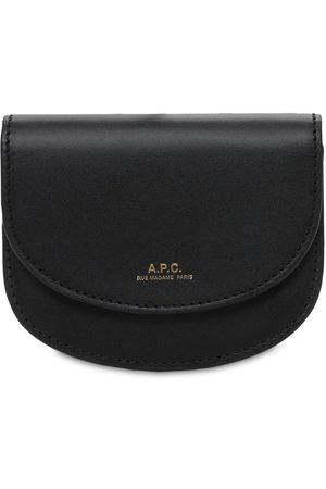 A.P.C. Women Wallets - Genève Leather Wallet