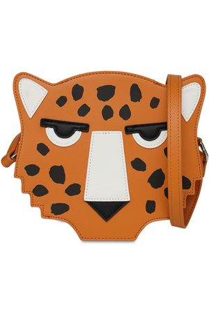 Stella McCartney Cheetah Faux Leather Shoulder Bag