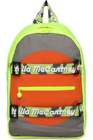 Stella McCartney Sport Recycled Backpack W/ Logo Tape