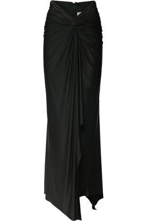 ALEXANDRE VAUTHIER Draped Asymmetric Skirt