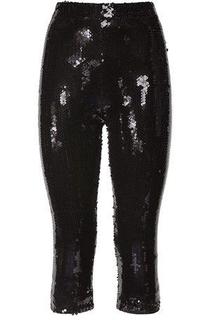 ALEXANDRE VAUTHIER Women Stretch Pants - Sequin Stretch Viscose Cycle Pants