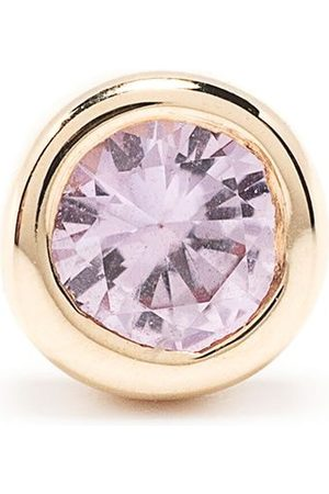 Maria Black Women Studs - 14kt yellow pink sapphire Dot Mega stud earring
