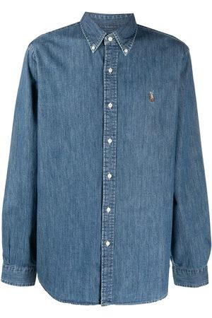 Polo Ralph Lauren Men Denim - Signature Polo Pony motif denim shirt