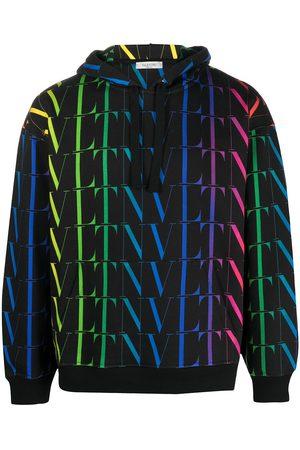 VALENTINO Men Hoodies - VLTN-print hoodie