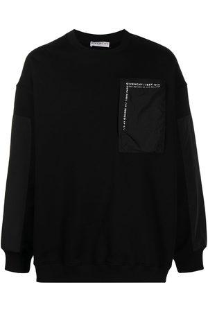 Givenchy Logo patch pocket sweatshirt