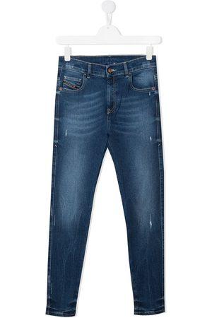 Diesel Skinny - TEEN distressed skinny jeans