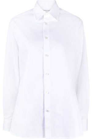 Bottega Veneta Women Long sleeves - Long-sleeve cotton shirt
