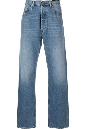 Diesel Light wash wide-leg jeans