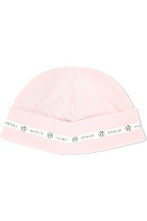 Aigner Logo-tape beanie hat