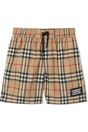 Burberry Vintage check swim shorts - Neutrals