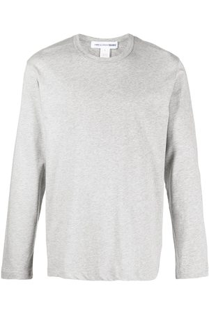 Comme des Garçons Men Long Sleeve - Longsleeved cotton T-shirt - Grey