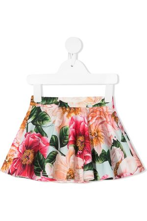 Dolce & Gabbana Floral print cotton skirt