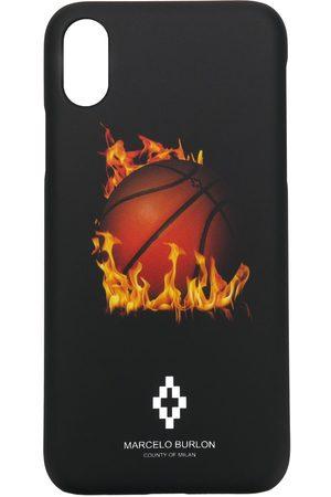 MARCELO BURLON Men Phones Cases - Printed iPhone X case