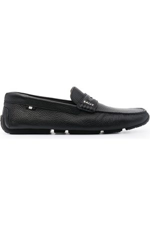 Bally Men Loafers - Pavel pebbled penny loafers