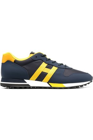 Hogan H383 panelled low-top sneakers