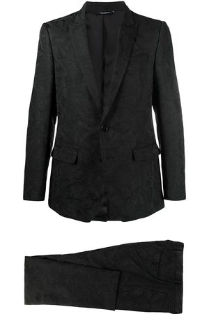 Dolce & Gabbana Floral jacquard martini two-piece suit