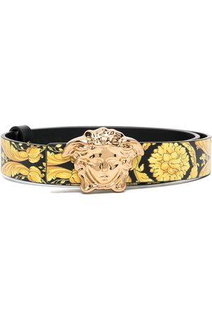 VERSACE Boys Belts - Medusa plaque belt