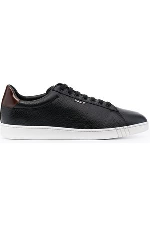 Bally Wildy grained low-top sneakers