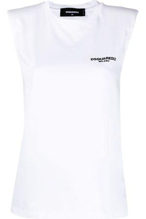 Dsquared2 Logo-print sleeveless top