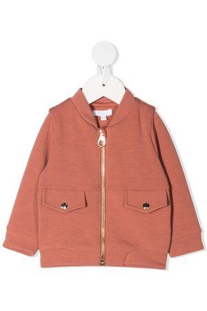Chloé Bomber Jackets - Logo-embellished jacket