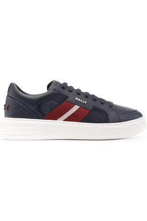 Bally Men Sneakers - Striped band chunky-sole sneakers