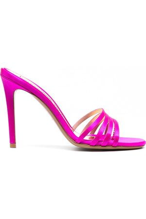 ALEXANDRE VAUTHIER Heeled leather sandals