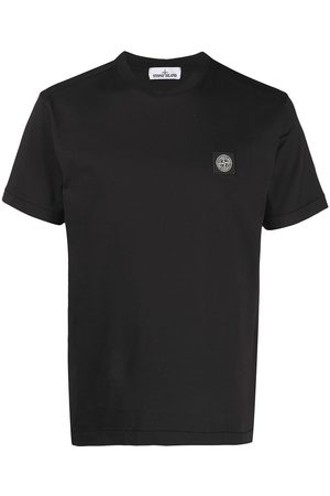 Stone Island Men Short Sleeve - Logo-patch short-sleeve T-shirt