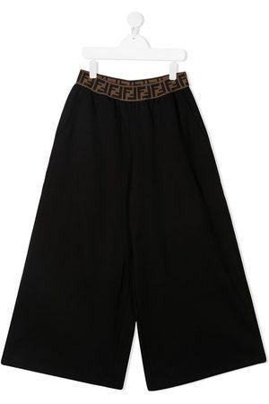 Fendi FF waistband trousers