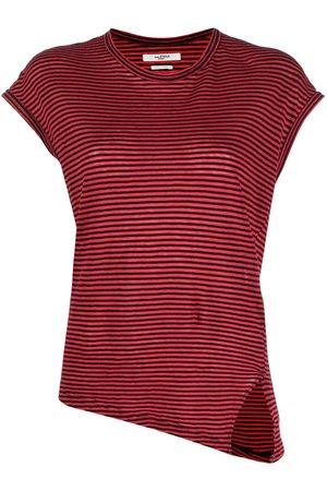 Isabel Marant Asymmetric striped T-shirt