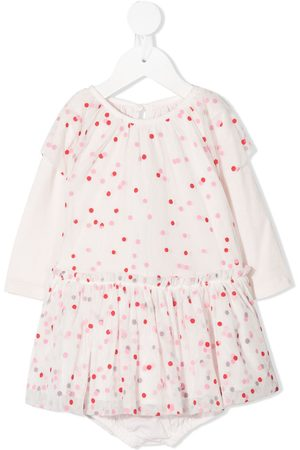 Stella McCartney Baby Sets - Layered polka dot dresss