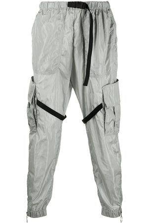 OFF-WHITE Elasticated cargo pants - Grey