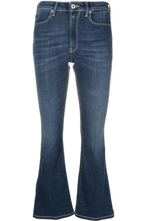 Dondup Women Flares - Flared cropped jeans
