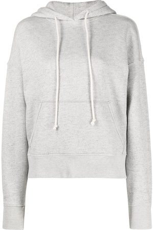 RE/DONE Classic drawstring hoodie - Grey