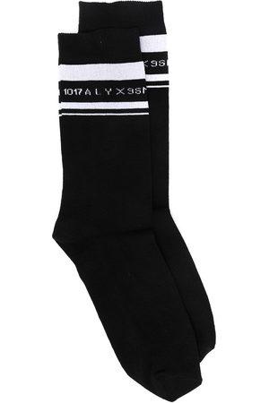 1017 ALYX 9SM Men Socks - Logo intarsia mid-calf socks