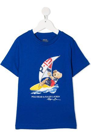 Ralph Lauren Boys T-shirts - Logo bear print T-shirt