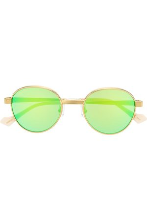 Gucci Mirrored round-frame sunglasses